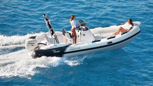 Location bateau ranieri cayman 19 115CV cannes - mandelieu